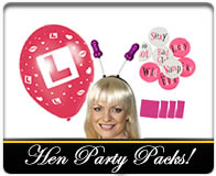 Hen party packs!